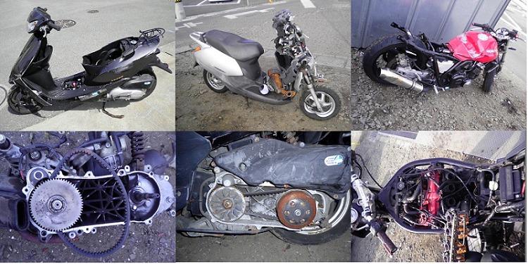 無料処分・回収不可のバイクについて