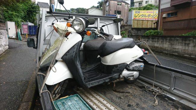 君津市トゥデイ長期放置車の買取・廃車手続き